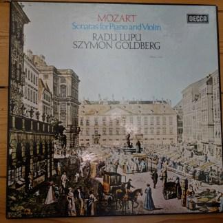 13BB 207/212 Mozart Sonatas For Violin & Piano / Goldberg