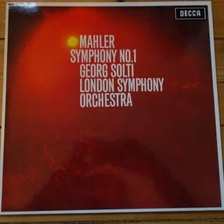 SXL 6113 Mahler Symphony No. 1 / Solti