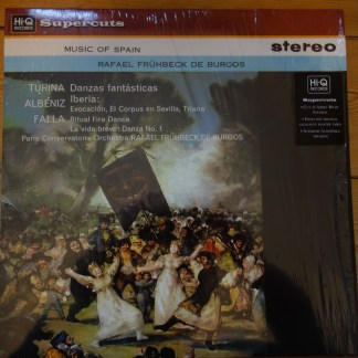 HIQLP 041 Music of Spain / De Burgos