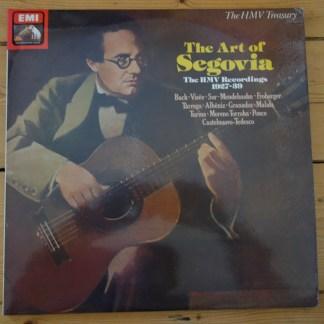 RLS 745 The Art of Segovia HMV Recordings 1927-39
