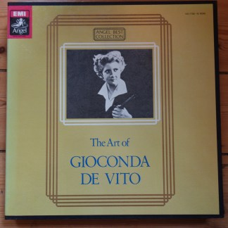 EAC-77350-60 The Art of Gioconda de Vito