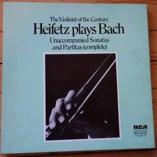SER 5669/71 Bach Sonatas & Partitas for Solo Violin / Heifetz