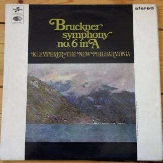 SAX 2582 Bruckner Symphony No. 6 / Klemperer E/R