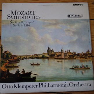 SAX 2468 Mozart Symphonies No.38 & 39 Philharmonia Orchestra Otto Klemperer E/R