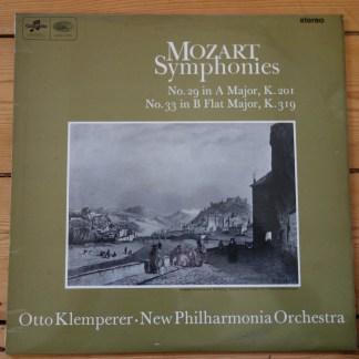 SAX 5256 Mozart Symphonies 29 & 33 / Klemperer E/R