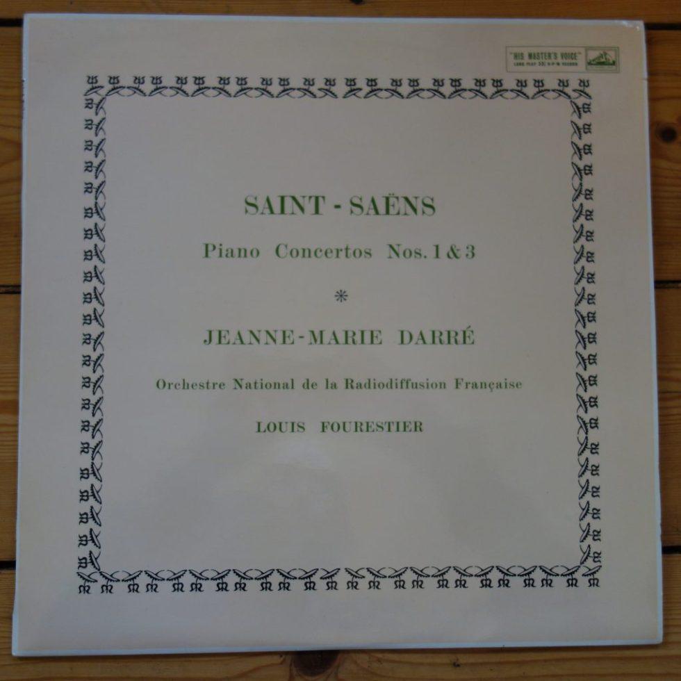 ALP 1593 Saint-Saens Piano Concertos 1 & 2 / Jeane-Marie Darré