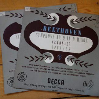 LXT 2725/26 Beethoven Symphony No. 9 / Erich Kleiber