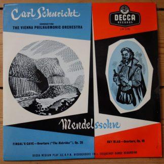 LW 5193 Mendelssohn Fingal's Cave, Ray Blas / Schuricht