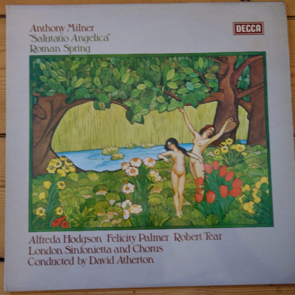 SXL 6699 Milner Salutatio Angelica etc. / Atherton etc. London Sinfonietta