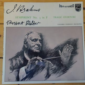 SABL 183 Brahms Symphony No. 3 / Walter Hi-Fi Stereo