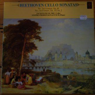 CFP 41 4494 1 Beethoven Cello Sonatas / Jacqueline Du Pre / Bishop-Kovacevich