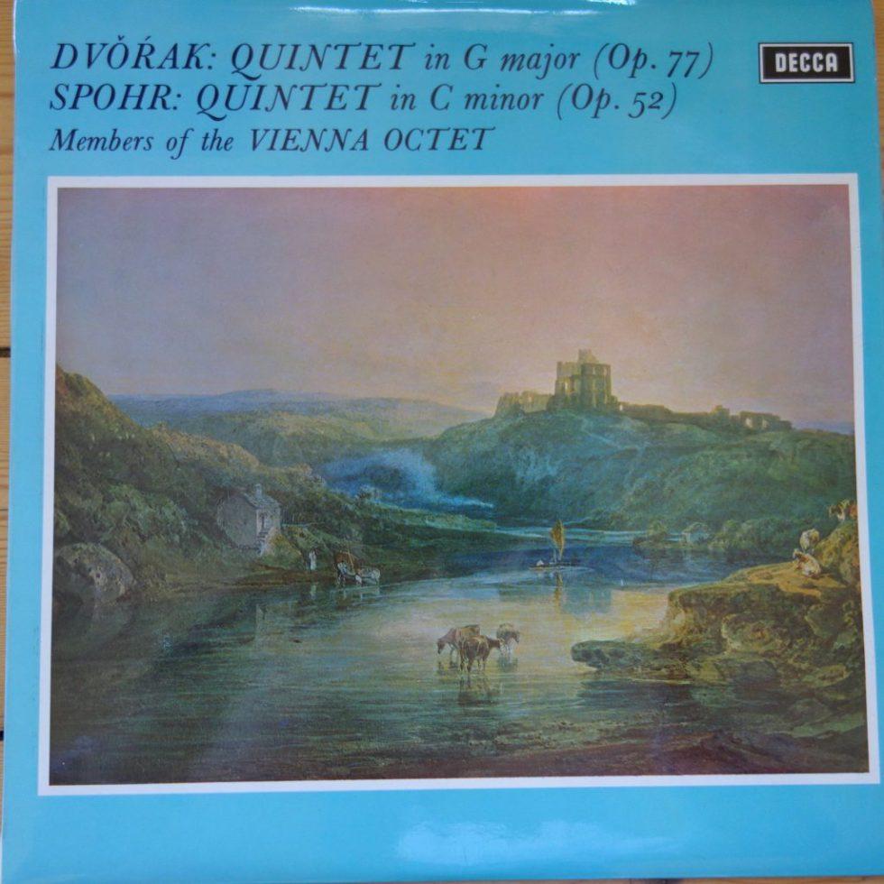 SXL 6463 Dvorak / Spohr Quintets / Vienna Octet