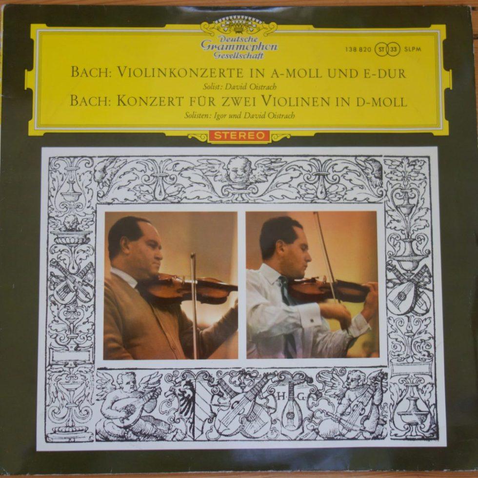 138 820 Bach Violin Concertos / David & Igor Oistrakh
