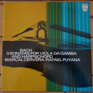 6500 005 Bach 3 Sonatas For Viola Da Gamba & Harpsichord