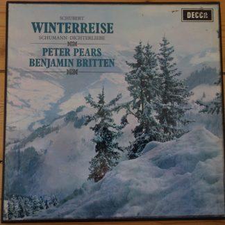 SET 270-1 Schubert Winterreise / Pears / Britten W/B 2 LP box set