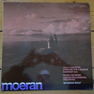 SRCS 43 Moeran Cello Concerto, Overture, etc. / Peers Coetmore / Boult / LSO