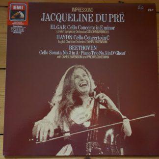 EX 7 69707 1 Elgar Haydn Beethoven Jacqueline Du Pre Impressions
