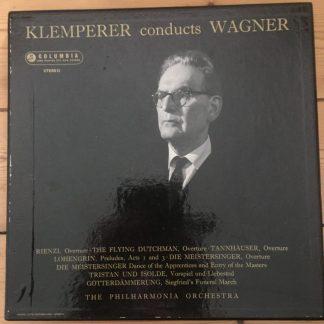 SAX 2347/48 Klemperer Conducts Wagner B/S 2 LP box set