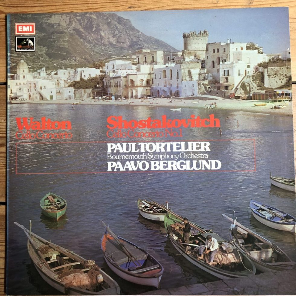 ASD 2924 Walton / Shostakovich Cello Concertos / Paul Tortelier / Berglund HP LIST
