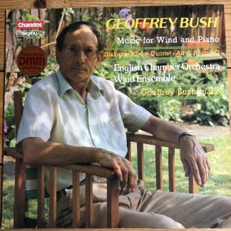 ABRD 1196 Geoffrey Bush Music For Wind & Piano / ECO Wind Ensemble