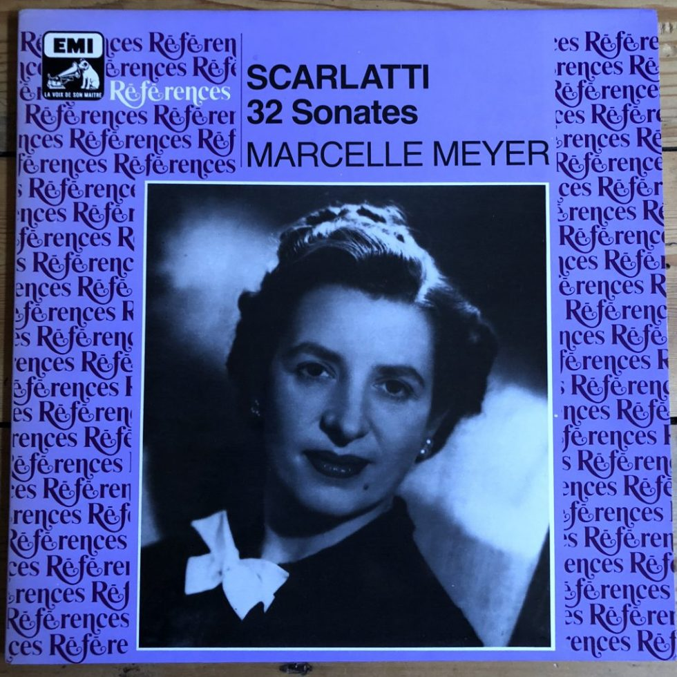 2905773 Scarlatti 32 Sonates / Marcelle Meyer 2 LP set
