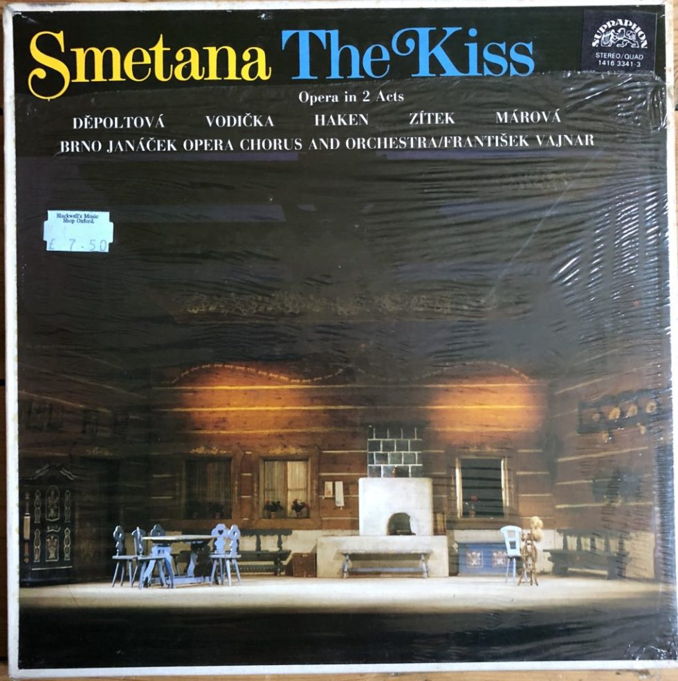 1416 3341-3 Smetana The Kiss / Vajnar / BRNO Opera SEALED