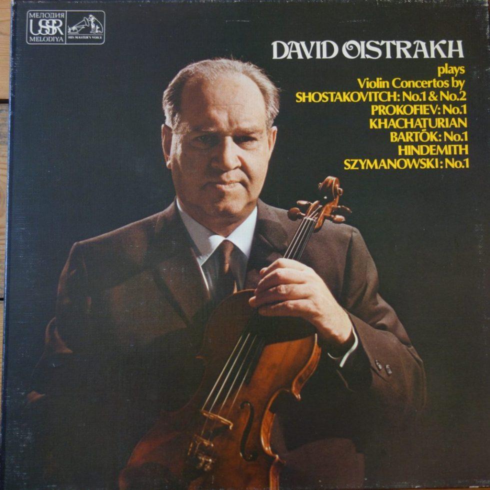 SLS 5058 David Oistrakh - Violin Concertos