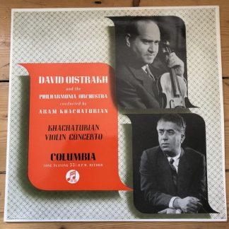 33CX 1303 Khachaturian Violin Concerto / David Oistrakh B/G