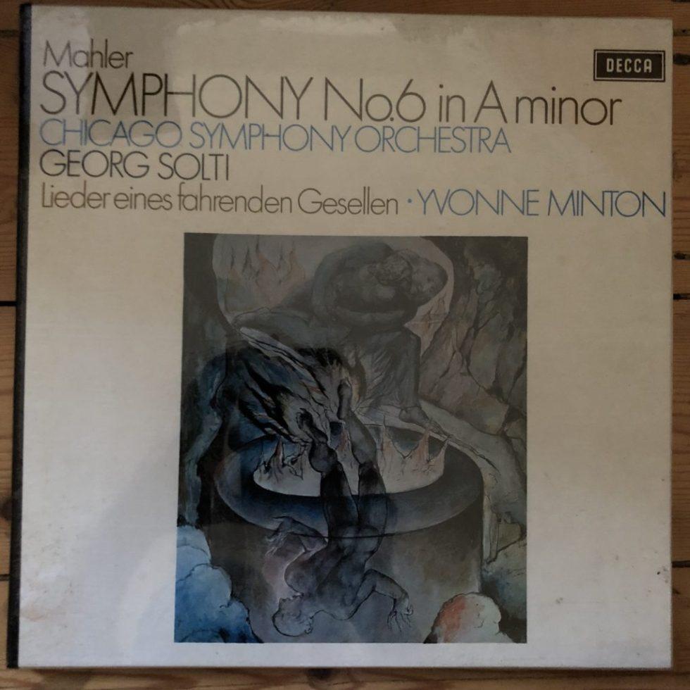 SET 469-70 Mahler Symphony No. 6 / Soti / CSO 2 LP box set