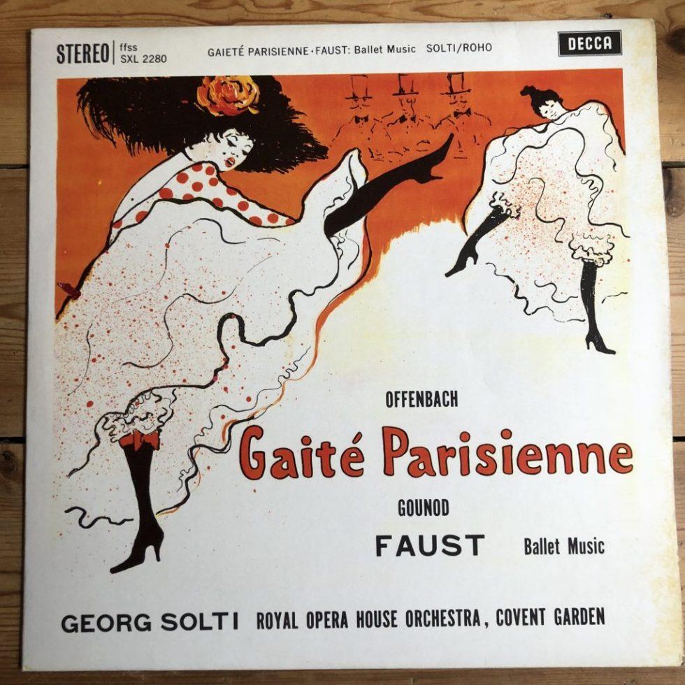 SXL 2280 Offenbach Gaite Parisienne etc. / Solti W/B