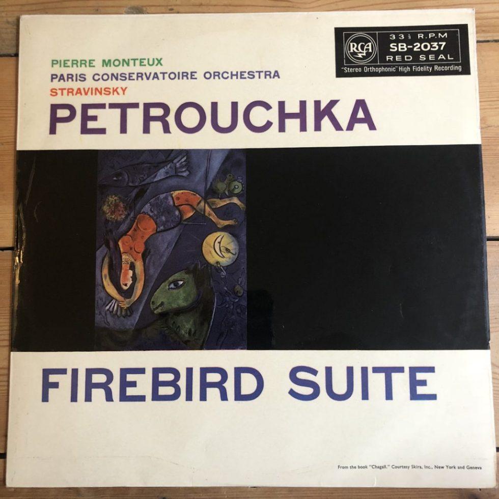 SB 2037 Petrouchka / Firebird / Monteux / PCO R/S