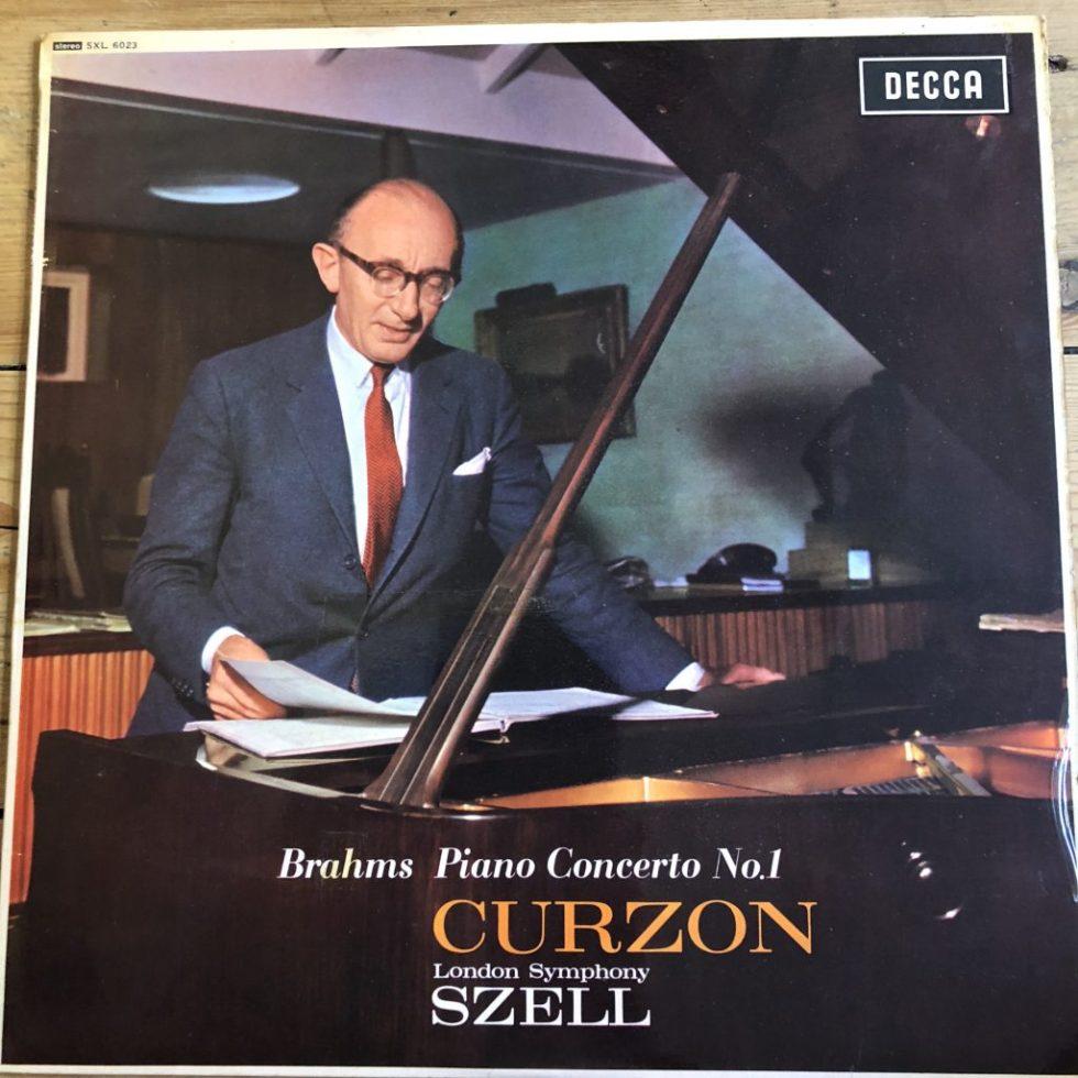 SXL 6023 Brahms Piano Concerto No. 1 / Curzon / Szell