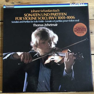 6.35621 Bach Sonatas & Partitas / Thomas Zehetmair 2 LP box set
