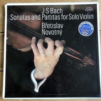 1 11 1101-3 Bach Sonatas & Partitas for Solo Violin / Bretislav Novotny