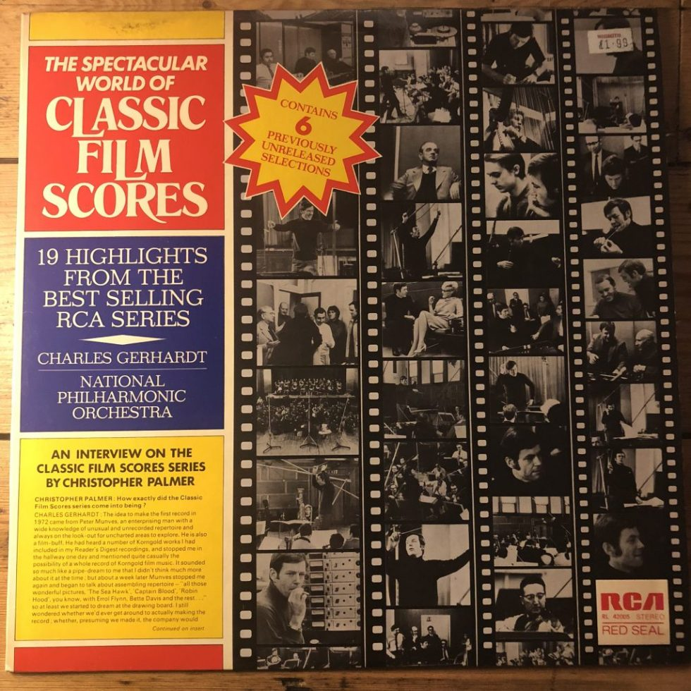 RL 42005 The Spectacular World of Classic Film Scores / Gerhardt HP LIST