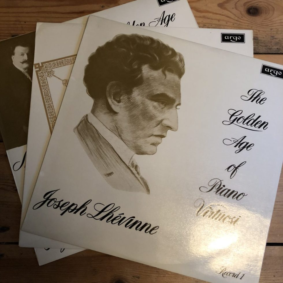 DA 41-43 The Golden Age of Piano Virtuosi 3 LP set
