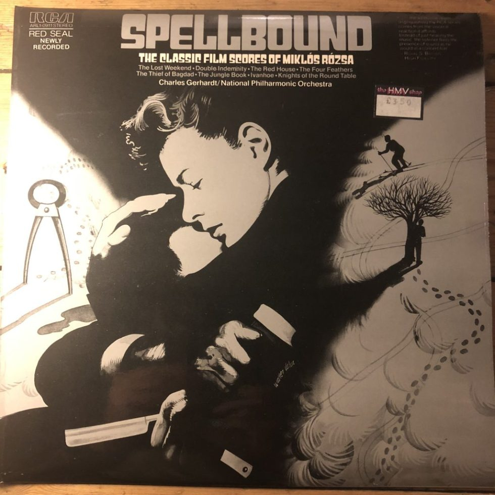 ARL1-0911 Spellbound The Classic Scores of Miklos Rozsa