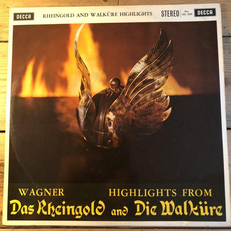 SXL 2230 Wagner Rheingold / Walkure (h/ls) / Solti W/B