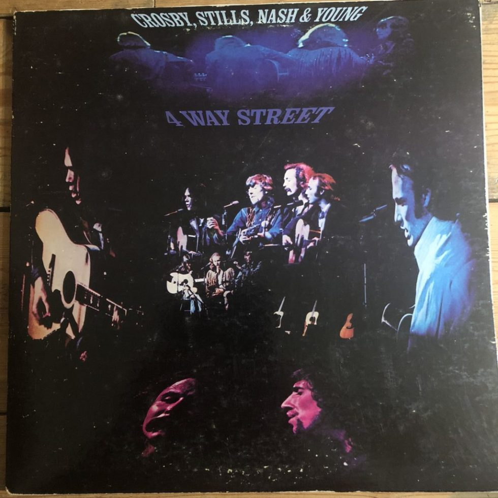 Atlantic 2657 004 Crosby, Stills, Nash & Young 4 Way Street