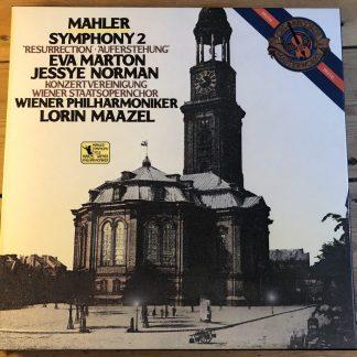 CBS 12M 38667 Mahler Symphony No. 2 / Maazel