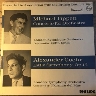SAL 3497 Tippet Concerto For Orchestra