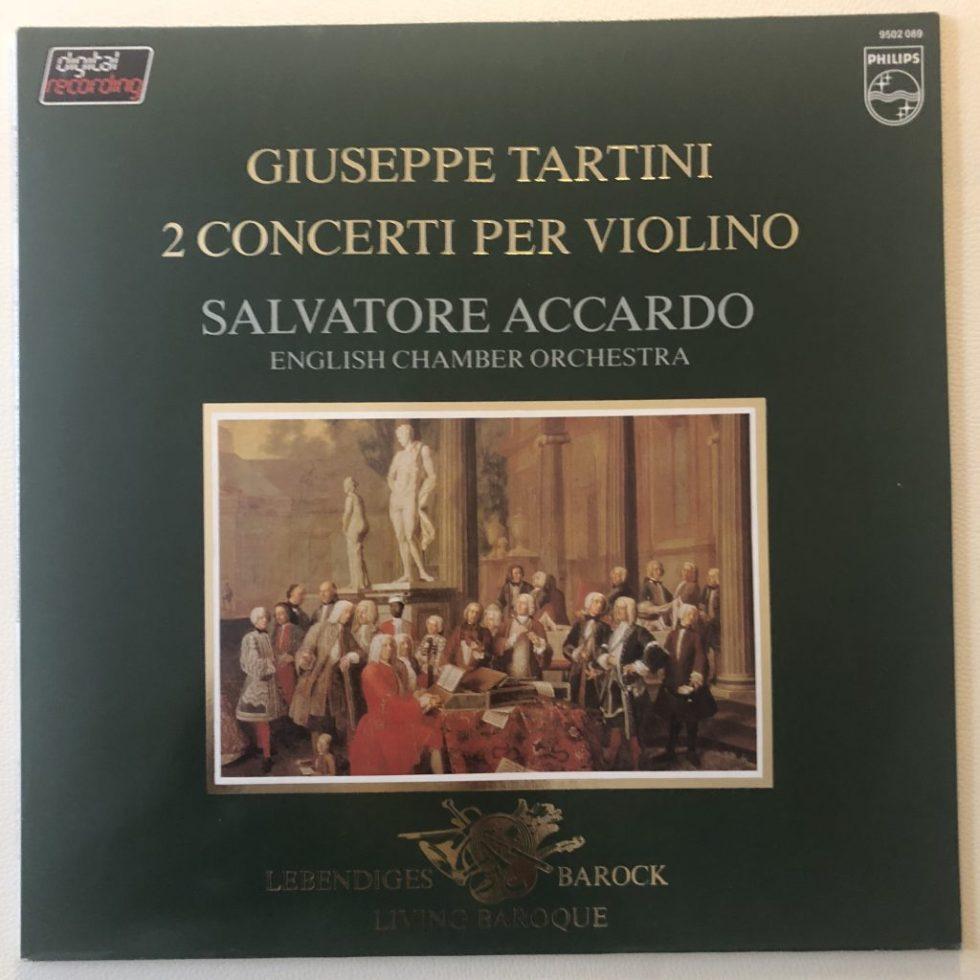 9502 089 Tartini 2 Violin Concertos / Salvatore Accardo