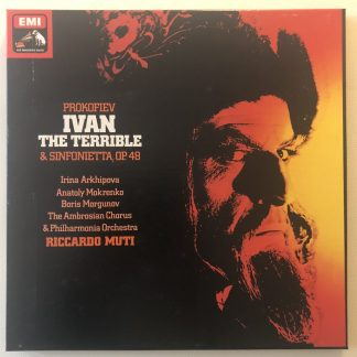 SLS 5110 Prokofiev Ivan the Terrible / Muti 2LP HP LIST