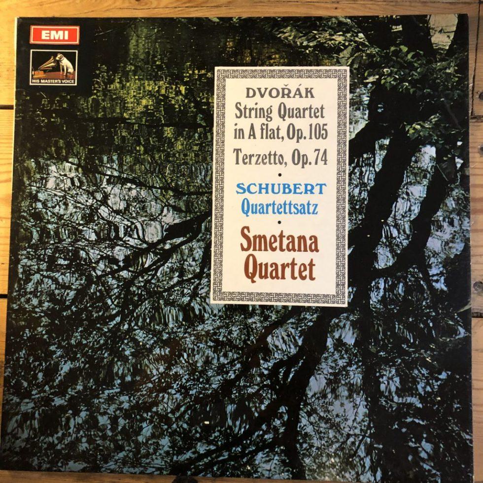 ASD 2402 Dvorak String Quartet in A flat etc. / Smetana Quartet