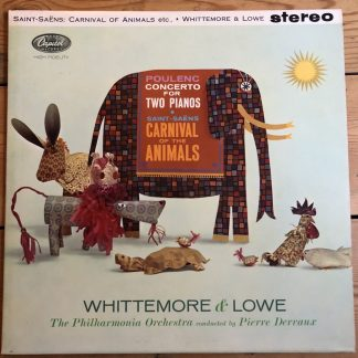 SP 8537 Saint-Saens Carnival of the Animals