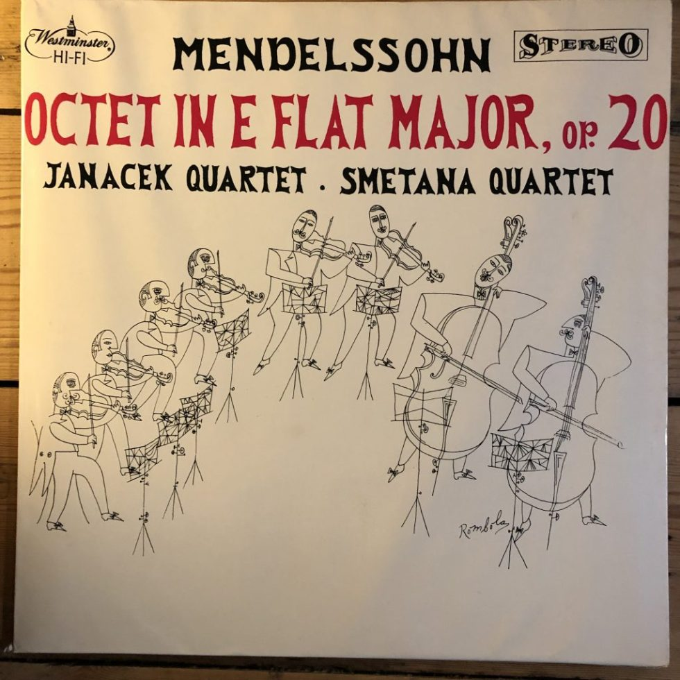 WST 14082 Mendelssohn Octet Op. 20 Janacek Smetana Quartets