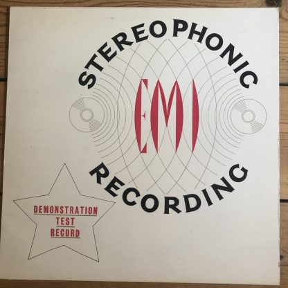 SDD 1 EMI Stereophonic Demonstration Test Record