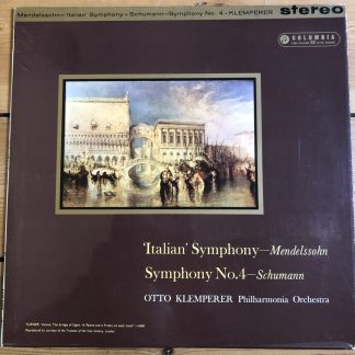 SAX 2398 Mendelssohn / Schumann Symphonies