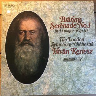 CS 6567 Brahms Serenade No. 1 / Kertesz / LSO