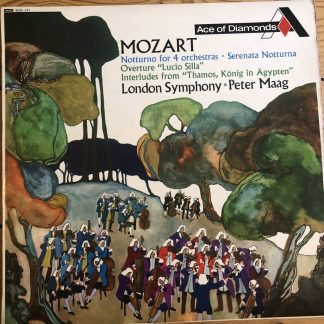 SDD 171 Mozart Notturno for 4 orchestras etc.